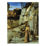 Saint Francis in the Desert by Giovanni Bellini Postcard