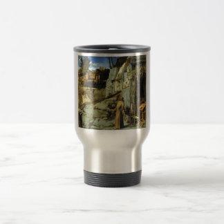 Saint Francis in the Desert by Giovanni Bellini Travel Mug