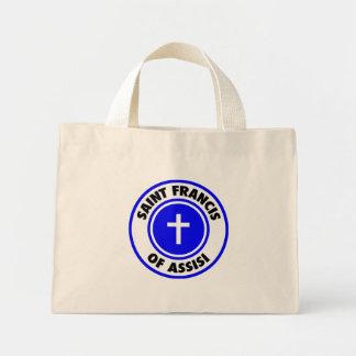 Saint Francis of Assisi Tote Bags