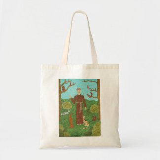 Saint Francis of Assisi Canvas Bags