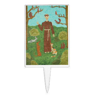 Saint Francis of Assisi Cake Topper