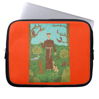 Saint Francis of Assisi Computer Sleeve