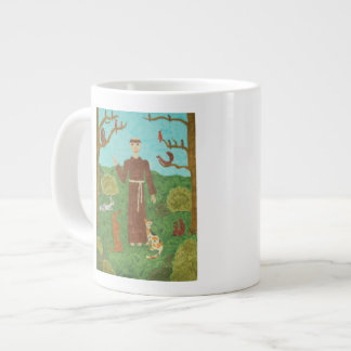 Saint Francis of Assisi Giant Coffee Mug