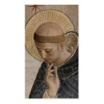 Saint Francis of Assisi  in Contemplation Business Card Template