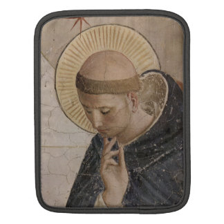 Saint Francis of Assisi  in Contemplation iPad Sleeve