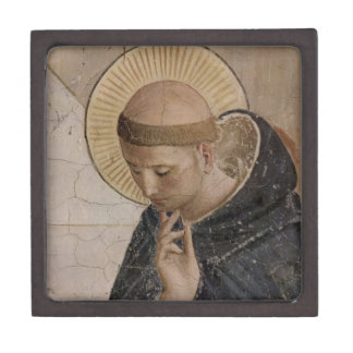 Saint Francis of Assisi  in Contemplation Premium Jewelry Boxes