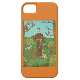 Saint Francis of Assisi iPhone 5 Covers