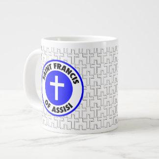 Saint Francis of Assisi Large Coffee Mug