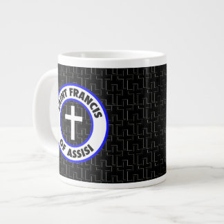 Saint Francis of Assisi Large Coffee Mug