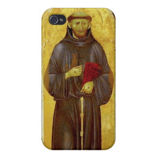 Saint Francis of Assisi Medieval Iconography iPhone 4 Case