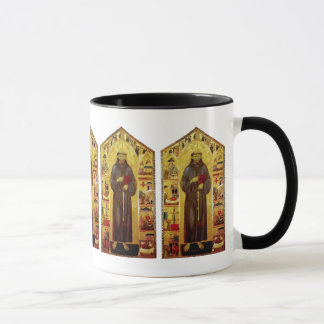 Saint Francis of Assisi Medieval Iconography Mug