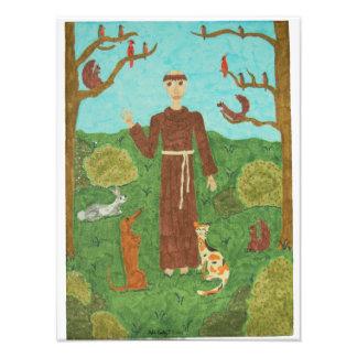 Saint Francis of Assisi Photographic Print