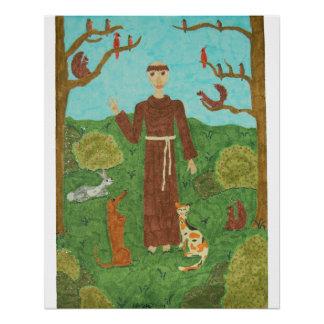 Saint Francis of Assisi Poster