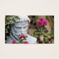 Saint Francis Of Assisi Prayer Cards at Zazzle
