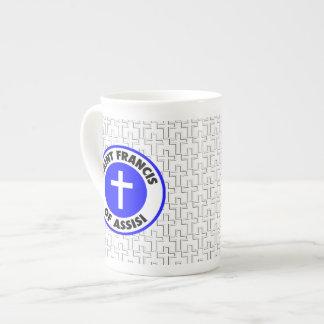 Saint Francis of Assisi Tea Cup