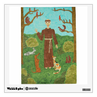Saint Francis of Assisi Wall Sticker