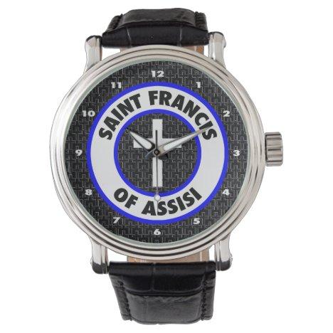 Saint Francis of Assisi Wrist Watch