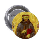 Saint Francis of Assissi Medieval Iconography Pins