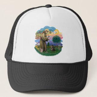 Saint Francis - Persian Tortie cat Trucker Hat