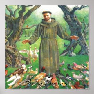 Saint Francis print
