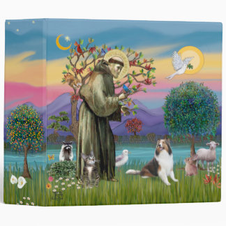 Saint Francis - Sheltie (L2) Binder