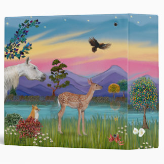 Saint Francis - Sheltie (L3) 3 Ring Binder