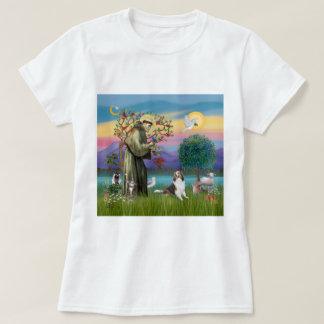 Saint Francis with Animals - custumizable T-Shirt