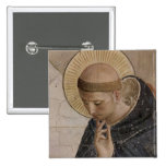Saint Francis with Head Bowed Button