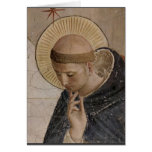 Saint Francis with Head Bowed Greeting Cards