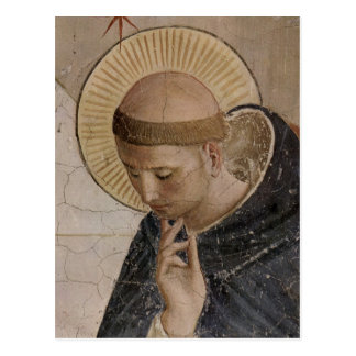 Saint Francis with Head Bowed Postcard