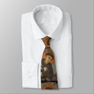 Saint  Francis with Lilies Neck Tie