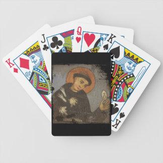 Saint Francis with White Lilies Card Decks