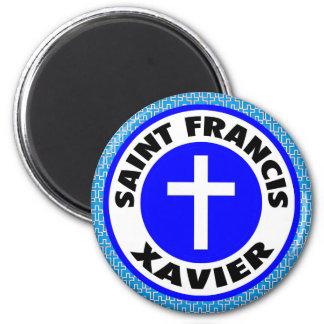 Saint Francis Xavier 2 Inch Round Magnet