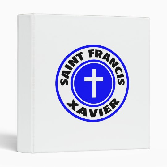 Saint Francis Xavier 3 Ring Binder