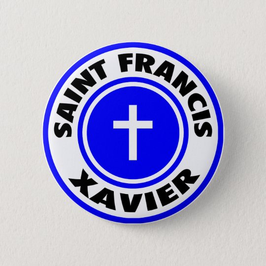Saint Francis Xavier Button