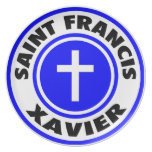 Saint Francis Xavier Party Plate