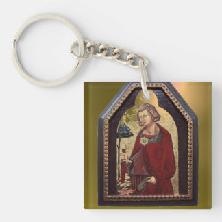 SAINT GALGANO / LEGEND OF THE SWORD IN THE ROCK KEYCHAIN