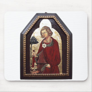SAINT GALGANO / LEGEND OF THE SWORD IN THE ROCK MOUSE PAD