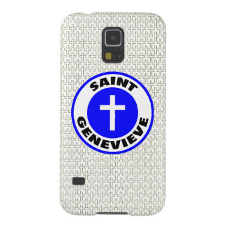 Saint Genevieve Galaxy S5 Cases