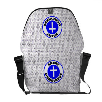 Saint Genevieve Messenger Bag
