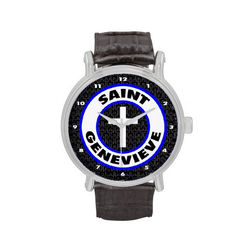 Saint Genevieve Wristwatch