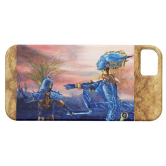 SAINT GEORGE AND ALIEN DRAGON iPhone SE/5/5s CASE