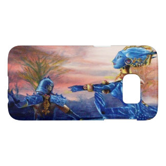 SAINT GEORGE AND ALIEN DRAGON SAMSUNG GALAXY S7 CASE
