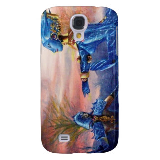SAINT GEORGE AND ALIEN DRAGON SAMSUNG S4 CASE