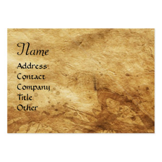 SAINT GEORGE AND DRAGON,parchment Business Card Template
