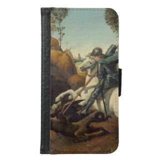 Saint George and Dragon Raphael Sanzio Samsung Galaxy S6 Wallet Case