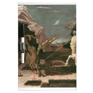 Saint George and the Dragon; Paolo Uccello; c.1460 Dry Erase Whiteboards