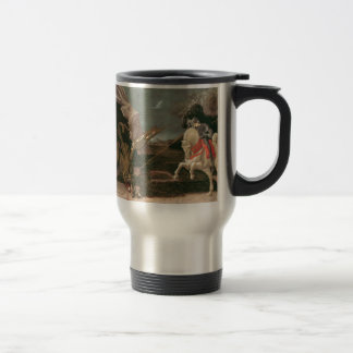 Saint George and the Dragon; Paolo Uccello; c.1460 Travel Mug