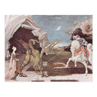 Saint George And The Dragon Postcard