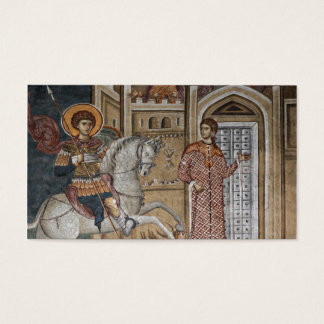 Saint George by the Castle Business Card